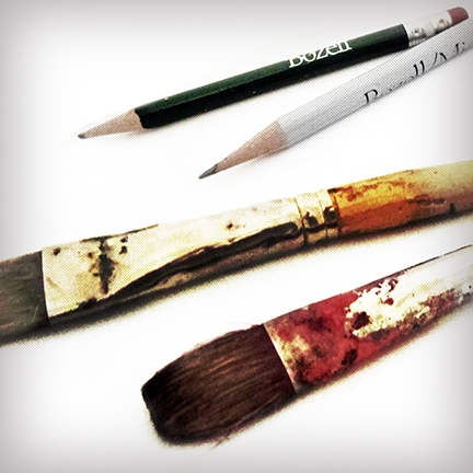 Ron Anderson's advertising art tools