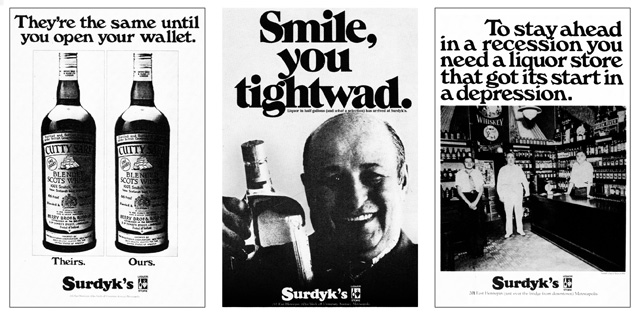 Surdyk's Minneapolis Advertising